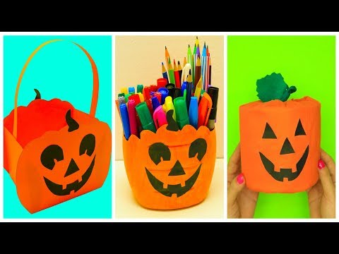 DIY Halloween Craft Ideas | Pumpkin Craft Ideas For Halloween