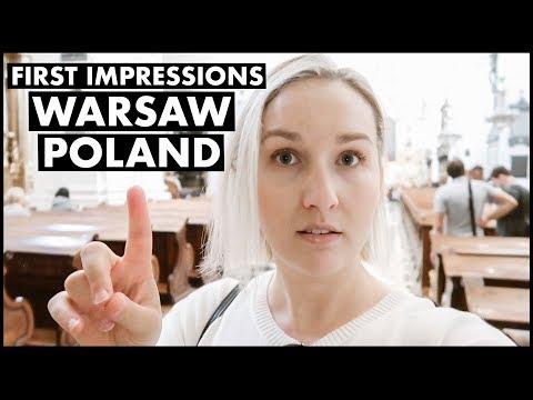 Warsaw, Poland First Impressions
