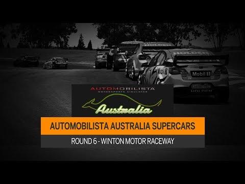 AMS Australia Broadcast - Supercars R6 - Winton Motor Raceway