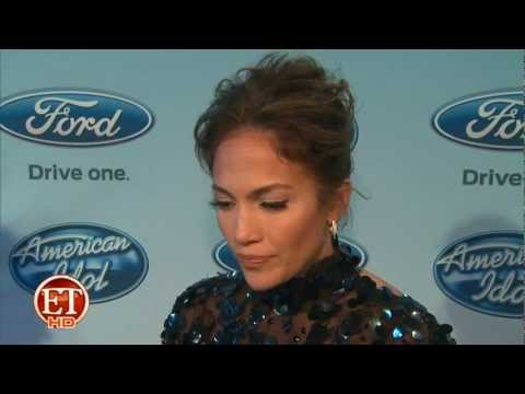 Jennifer Lopez Interview w ET after Idol Elimination