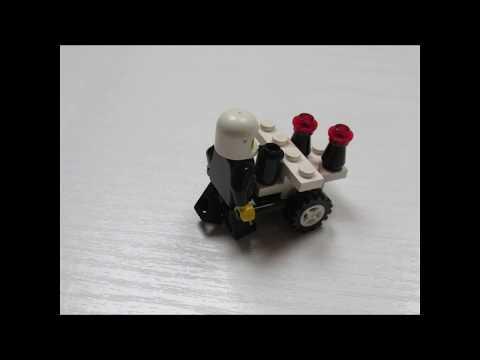 LEGO 6604 Alternative Model 3 Assembly Animation
