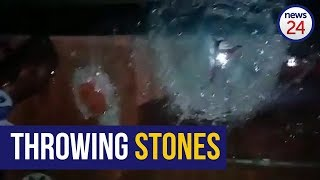 WATCH: Bricks shatter Eastern Cape truck driver's windshield
