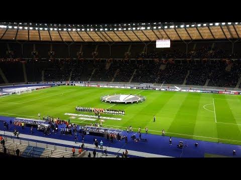 28.000 Herthaner machen Stimmung   Hertha BSC vs Bilbao