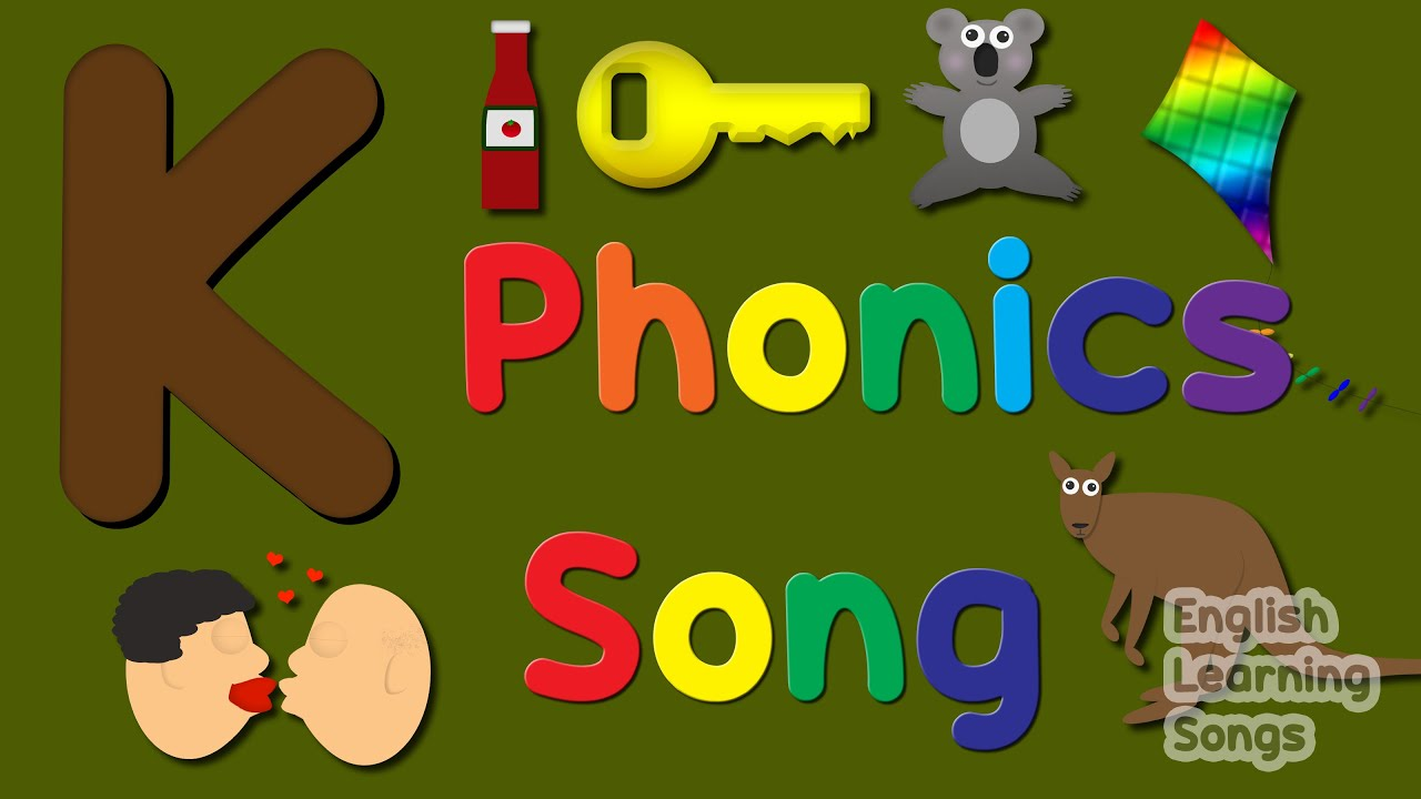 Letter K Phonics Song   Alphabet   English Learning Songs