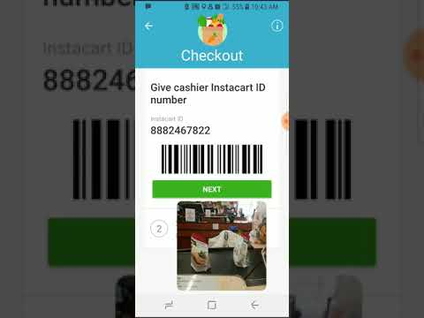 Instacart: How to Check Out- Loading Groceries, Bagging