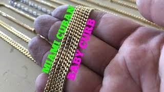 Miami Cuban Vs. BABY CURB (3.5MM)