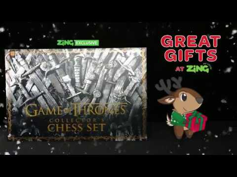 Game of Thrones - Collector's Chess Set - Video