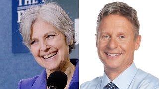 Gary Johnson & Jill Stein, From YouTubeVideos