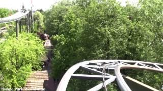 Matterhorn Blitz Front Row On Ride HD POV Europa Park