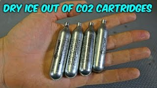 Can You Make Dry Ice Out Of CO2 Cartridges?