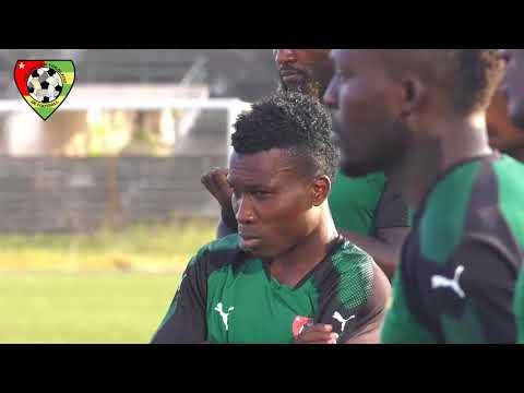 Séance d'entrainement des Eperviers du Togo ce vendredi 10 novembre 2017
