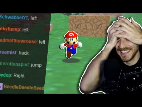 Can Twitch Chat beat A SINGLE LEVEL of Mario 64?