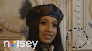 Cardi B on Nando's, Cocoa Butter and Tupac v Biggie: The Noisey Questionnaire of Life