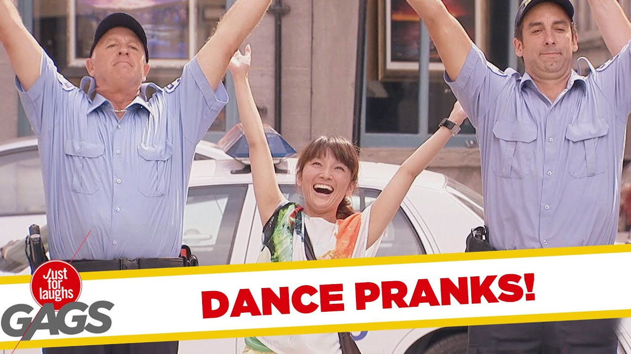 Just Laughs Dancing Cops