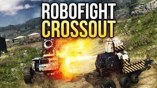 Crossout Robofight: ЦИКЛОП vs ЗЛОЙ ПОБЕДИТЕЛЬ