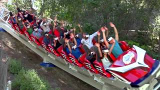 The New Revolution VR Coaster at Six Flags Magic Mountain