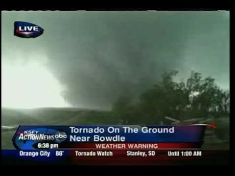 KSFY Bowdle, SD Tornado Live Coverage