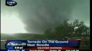 Repeat youtube video KSFY Bowdle, SD Tornado Live Coverage
