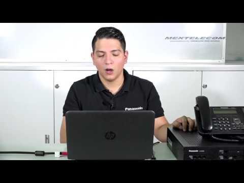 PANASONIC KX NS500 REGISTRO DE EXTENSIONES IP 9 DE 10
