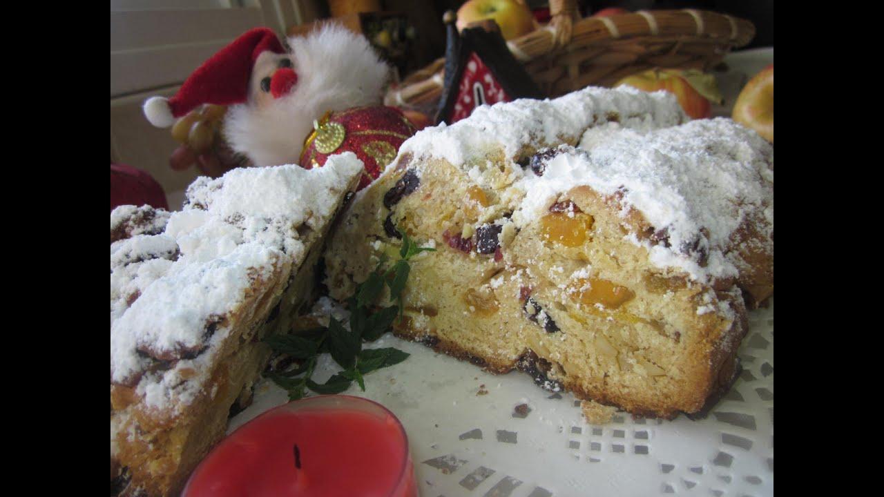 Рецепт- Немецкий Рождественский Штоллен!