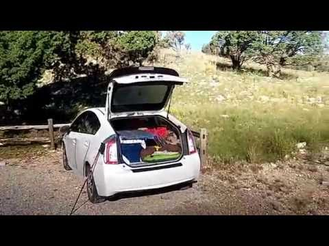 Dog Canyon Guadalupe Mtns. Camp site...Car camping in a Prius!