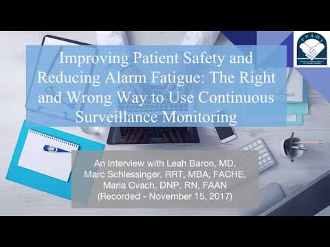Improving Patient Safety and Reducing Alarm Fatigue