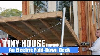 Video An Electric Winch Fold-Up Deck For a Tiny House? download MP3, 3GP, MP4, WEBM, AVI, FLV Juni 2018