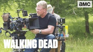 'Jesus & Aaron's Confrontation' Making of Ep. 907 BTS   The Walking Dead