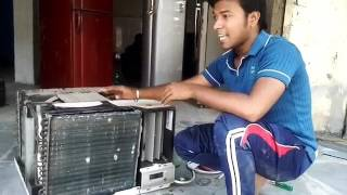 Window Ac Cooling Coil Repairing