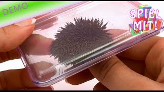 Eisenpulver magnet - Eisenpulver Box unboxing demo review test experiement thumbnail