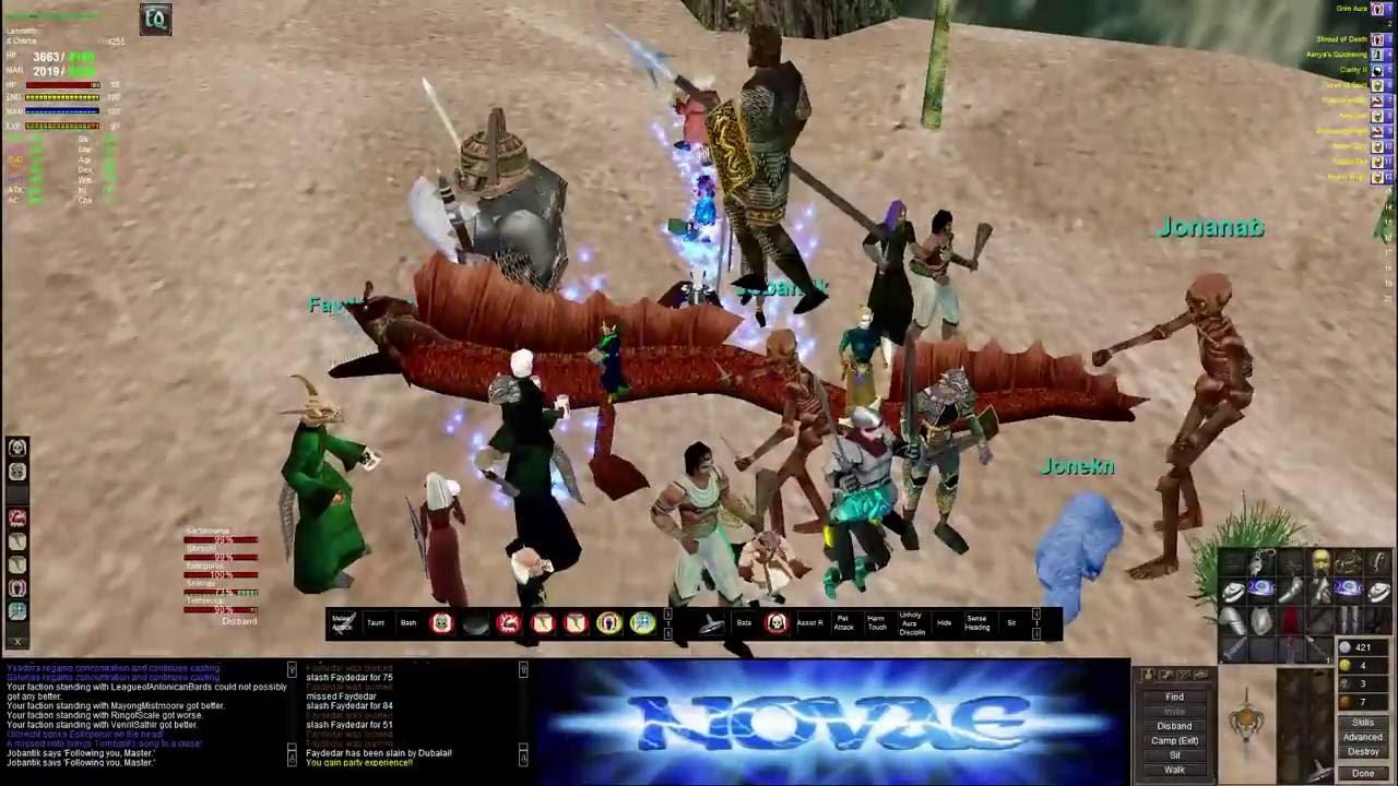 [P99] [FR] Novae Epic Druid Faydedar