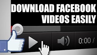 Download any video from Facebook in Firefox browser