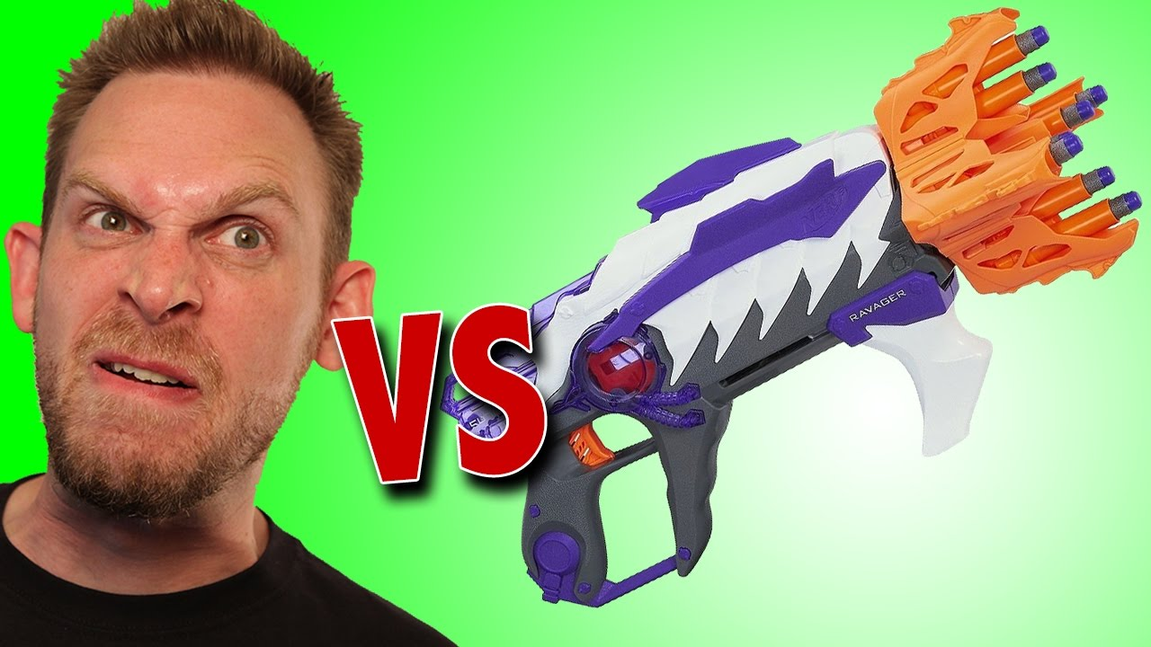 Ravager Menace Alien Nerf Youtube Unboxing OwPXnk80