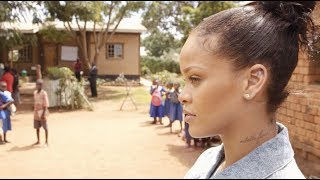 Video Inside Rihanna's Trip to Malawi for Education download MP3, 3GP, MP4, WEBM, AVI, FLV November 2017