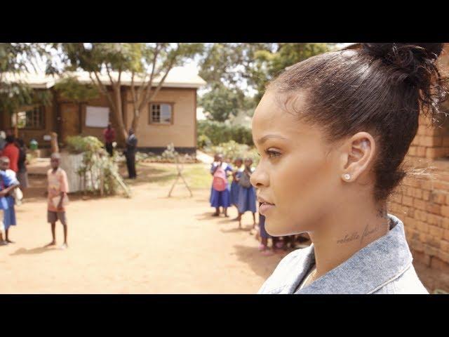 El inspirador viaje humanitario de Rihanna hasta Malawi
