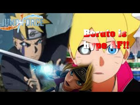 Jump Force: Boruto gameplay and moveset reveal