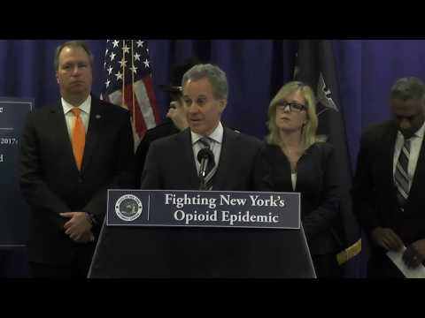 AG Schneiderman Announces Takedown of Major Hudson Valley Narcotics Ring