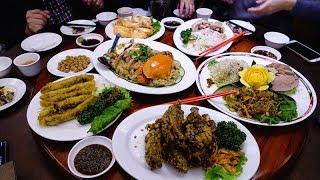 【台北探美食】興蓬萊台菜海鮮餐廳~3800元的5人宴席合菜(有菜單) 年菜 尾牙 春酒