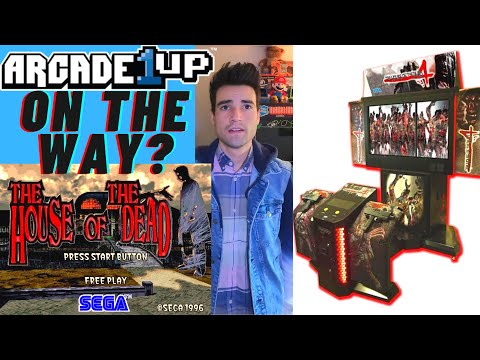 IS AN ARCADE1UP THE HOUSE OF THE DEAD CABINET ON THE WAY IN 2021? from Brick Rod