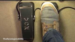 ♫ Dunlop Cry Baby vs VOX V847 Wah Demo ► (HD Audio)