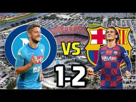 NAPOLI VS FC BARCELONA 2019 1-2 ALL GOALS & HIGHLIGHTS / TODOS LOS GOLES Y JUGADAS