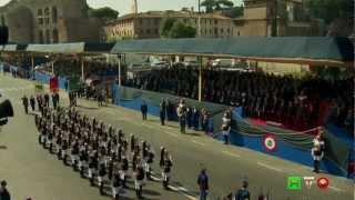 Festa della Repubblica - Parata Militare 2 Giugno 2012 - www-HTO.tv