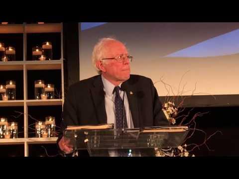 Senator Bernie Sanders at Sister Giant 2017