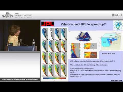 G24A Bowie Lecture—Glaciological studies of the evolution of ice sheets in a warming climate