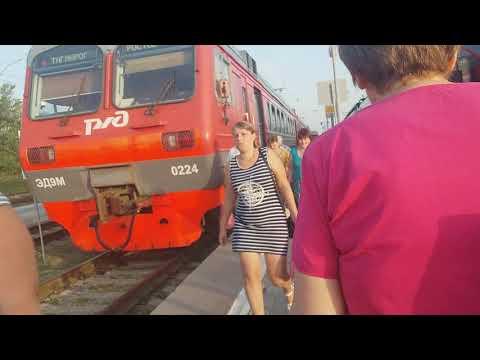 электричка Таганрог-Ростов 2018