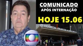 FOI CONFIRMADO! Coube a Globo, confirmar noticia sobre Fausto Silva de 71 anos