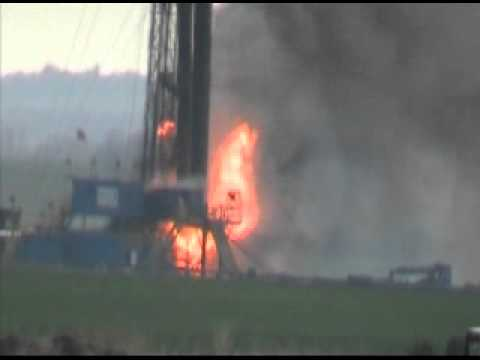 Dacoma, OK Oil Well Explosion