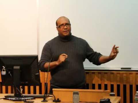 Dr. Lewis Gordon,  W.E.B. Du Bois Symposium,
