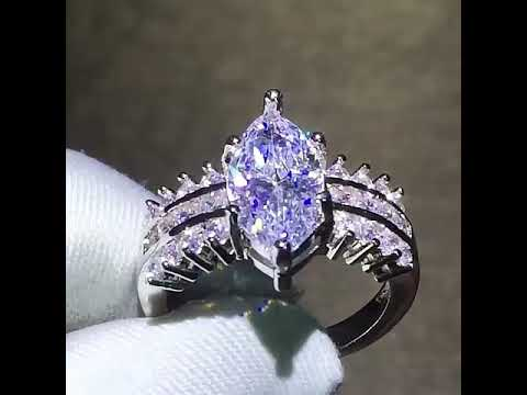 marquise-cubic-zirconia-rings-|-marquise-cut-ring