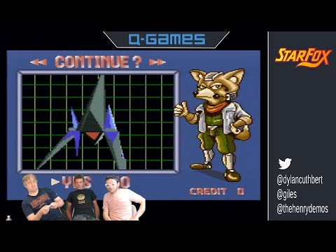 Original Star Fox programmers stream for first time ever!